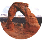 natural rock arch