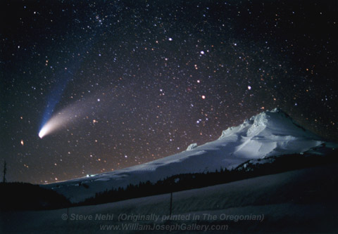 Photo of the Hale-Bopp Comet
