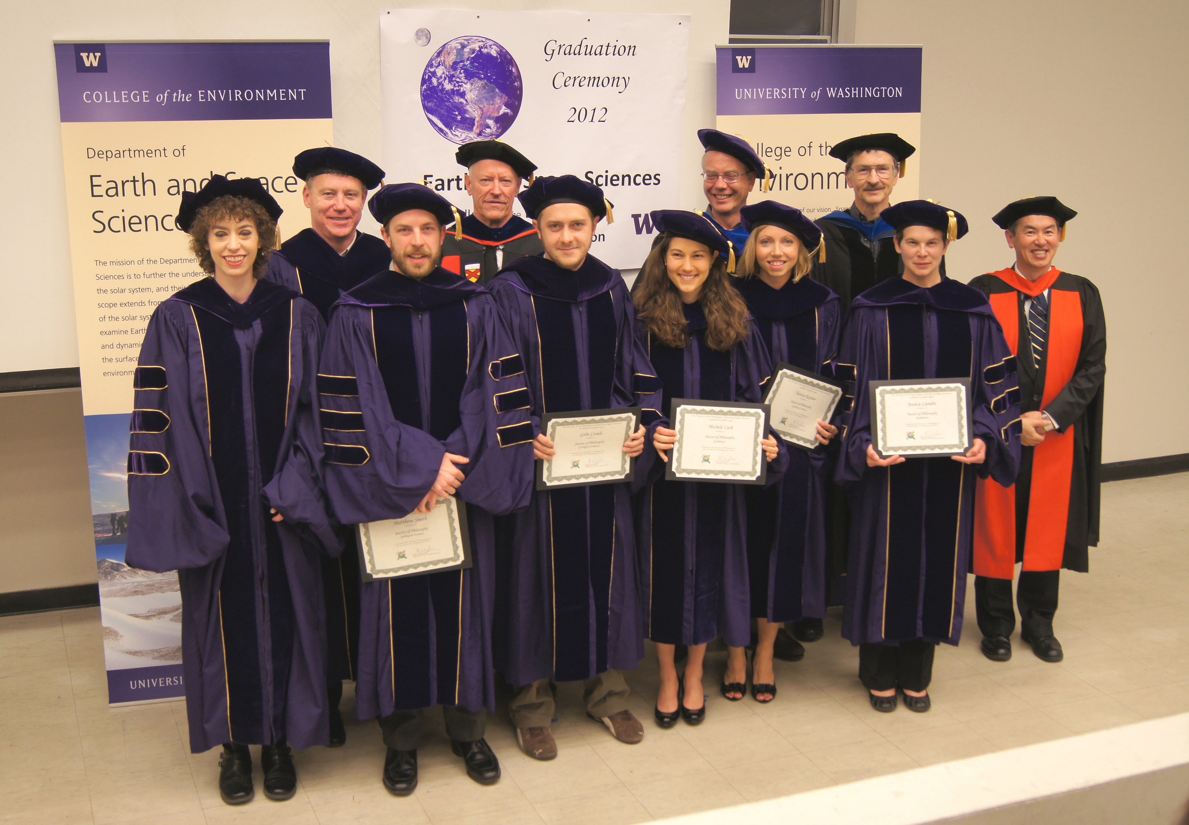 Graduation 2012 Earth And Space Sciences