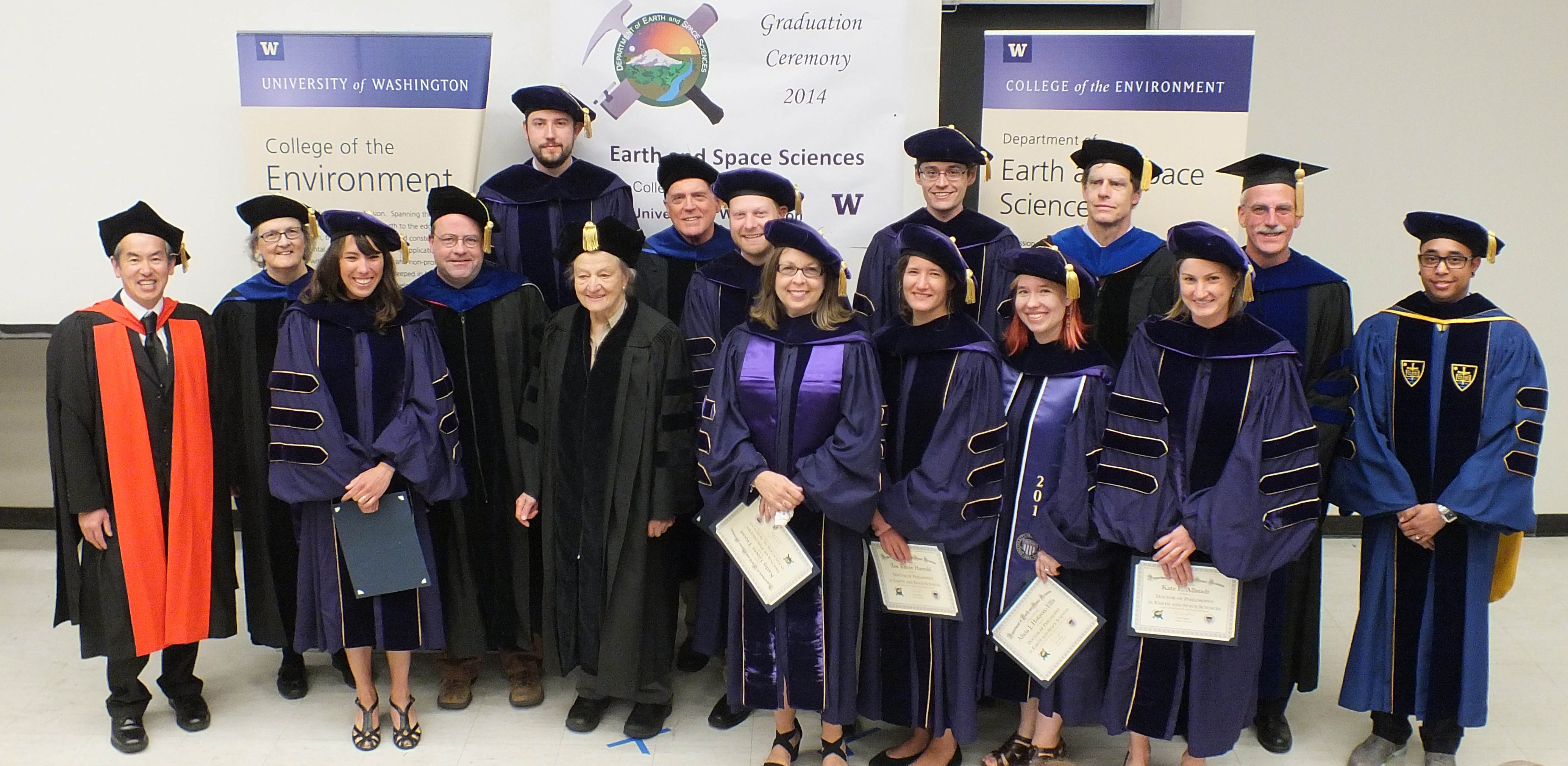 Graduation 2014 Earth And Space Sciences